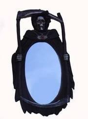46cm Grim Reaper wall mirror - Halloween