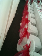 One stop shop for Chair cover Hire,  Wedding Flowers,  Bridal Makeup Etc