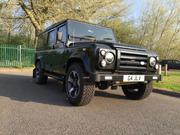 2015 Land Rover LAND ROVER DEFENDER tdci 110 XS csw LWB BLACK