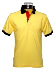 Buy Kustom Kit Contrast Polo Shirt