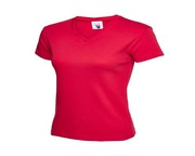 Uneek Ladies Premium V Neck Fitted T-Shirt